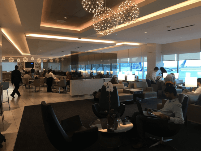 One of the perks of the United card are two one-time passes to any United Club after each account anniversary. Photo by Sarah Page Maxwell
